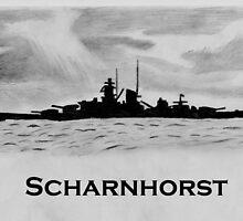 Scharnhorst by warrior1944