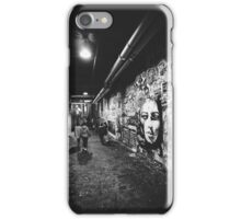 Seattle, Post Alley murals iPhone Case/Skin