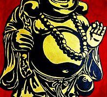 smile buddha by Silvia Eichhorn