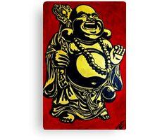 smile buddha Canvas Print