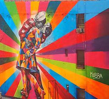 New York City Highline Kobra Mural by mynamesgrey