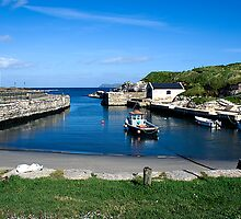 Port Ballintoy by Michael Jordan