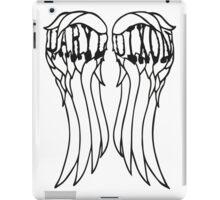 Daryl Dixon Wings iPad Case/Skin