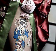 The leg of a Geisha by Jennifer Harvey
