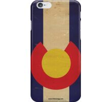 Colorado State Flag VINTAGE iPhone Case/Skin