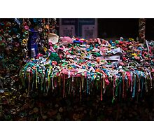 The Gum Wall, Seattle Photographic Print