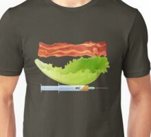 Bacon, Lettuce, and Testosterone Unisex T-Shirt
