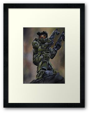 MASTER CHIEF by artbysarah