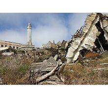 Alcatraz Ruins Photographic Print