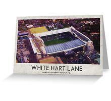 Vintage Football Grounds - White Hart Lane (Tottenham Hotspur FC) Greeting Card