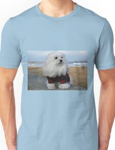 Snowdrop, the Maltese Unisex T-Shirt