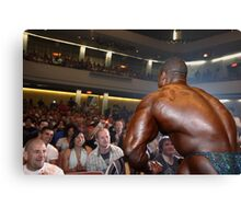 Muscle Show #1 Canvas Print