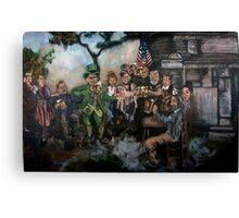 Mayor of Irishtown Canvas Print