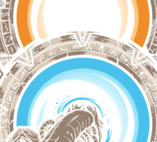 Star Portals Sticker