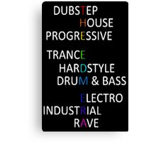 THE EDM ERA Canvas Print
