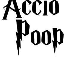 Accio Poop Magic Mug by smashal