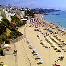 Albufeira Beach III by Tom Gomez
