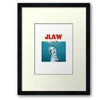 jlaw Framed Print