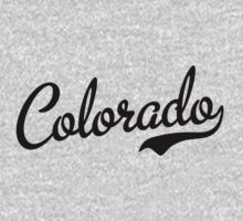 Colorado Script Black by USAswagg