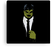 Hulk cool Canvas Print