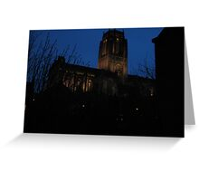 Cathedral once more Greeting Card