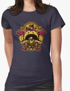 Saucer Crest Womens Fitted T-Shirt