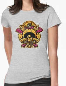 Saucer Crest Womens Fitted T-Shirt