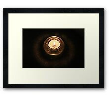Candlelight Pt. 2 Framed Print