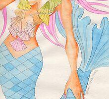 Mermaid Aquamarinna by Elisa Chong