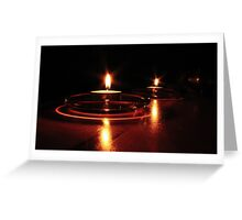 Candlelight Pt. 3 Greeting Card