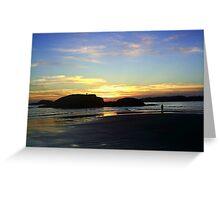McKenzie Beach Sunset Greeting Card