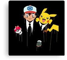 Ash & Pikachu cool Canvas Print