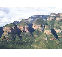 The Three Rondavels, South Africa Photographic Print