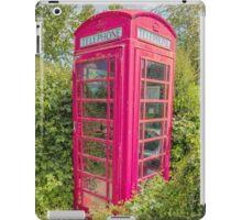Great British Red Phone Box iPad Case/Skin