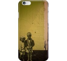 Seattle, Post Alley mural wall art iPhone Case/Skin