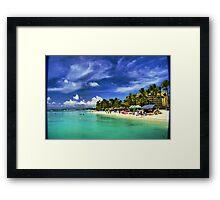 Arubian Beach Extraordinaire Framed Print