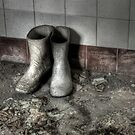 Morgue Wellies by Richard Shepherd
