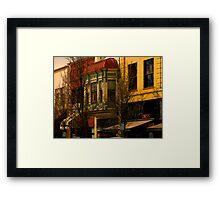 Historic Medford HDR Framed Print