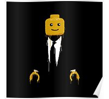 Lego man cool Poster