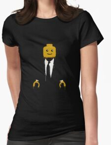Lego man cool Womens Fitted T-Shirt