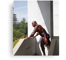 Muscle Show #2 Canvas Print