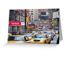 Newyork Minute Greeting Card