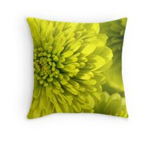 Chartreuse Throw Pillow