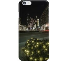 mall xmas display with willis tower in the background iPhone Case/Skin