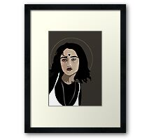 Woman as Element - Water Framed Print