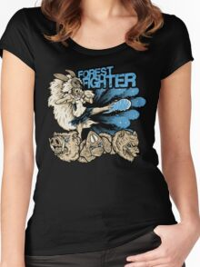 Forest Fighter Women's Fitted Scoop T-Shirt