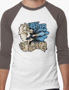Forest Fighter Men's Baseball ¾ T-Shirt