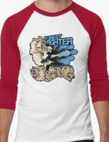 Forest Fighter Men's Baseball ¾ T-Shirt