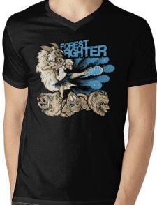 Forest Fighter Mens V-Neck T-Shirt
