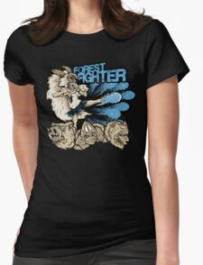 Forest Fighter Womens Fitted T-Shirt